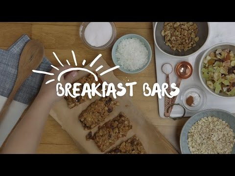 How to Make Kid-Friendly Homemade Breakfast Bars Recipe