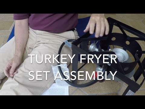 Turkey Fryer Set Assembly - Howto