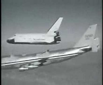 Space Shuttle Enterprise/747 Seperation - YouTube