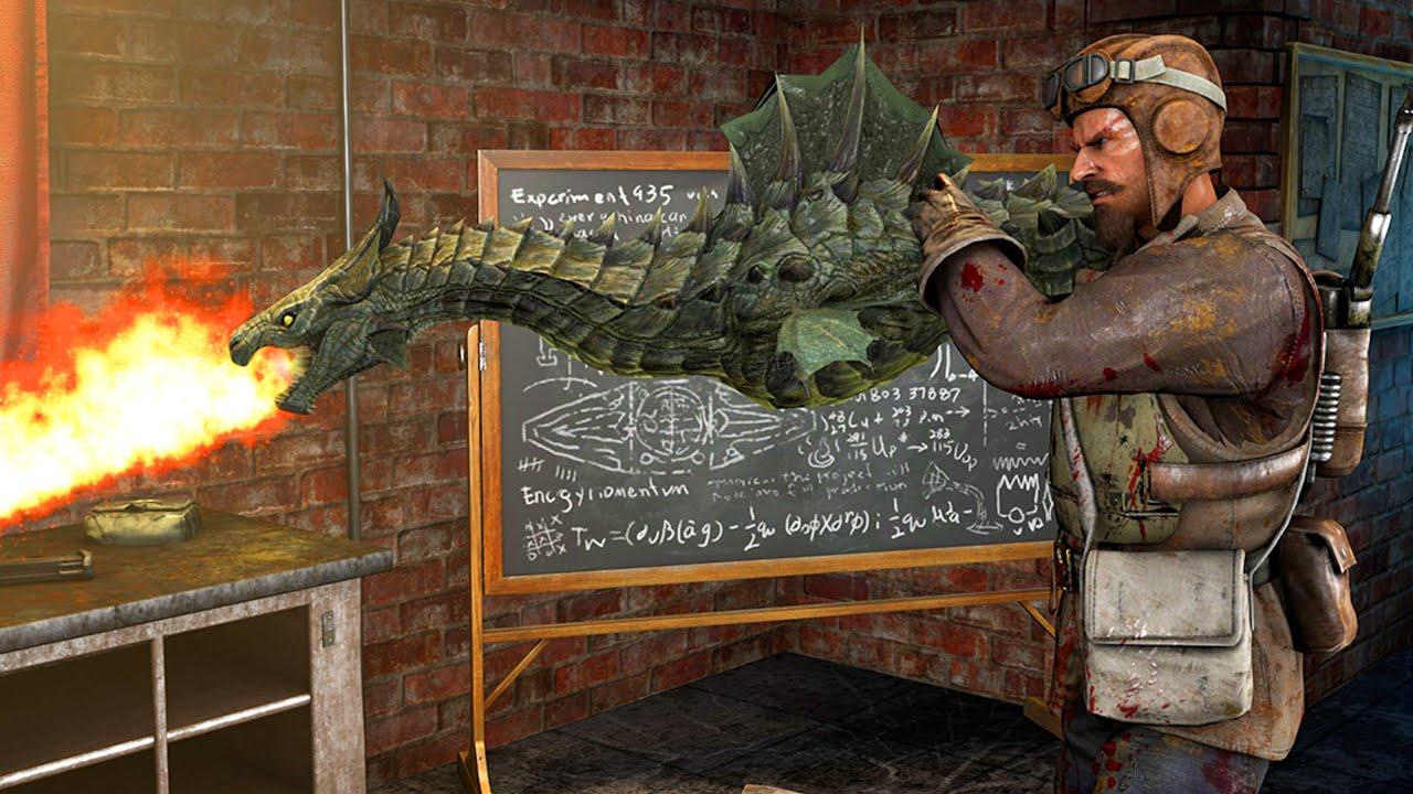 """DRAGON WONDER WEAPON GUN MOD - BLACK OPS 3 """"GOROD KROVI ..."""