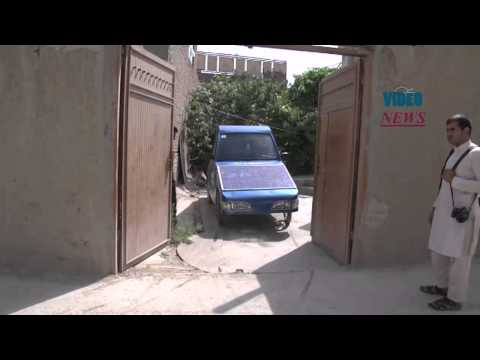 Solar-powered car in Afghanistan's Kabul