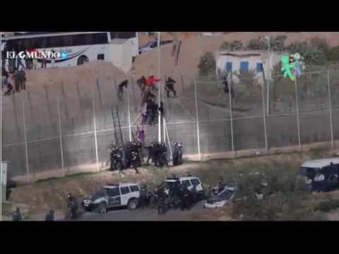 Spanien: Migranten Rückführung nach Africa - Never on TV!