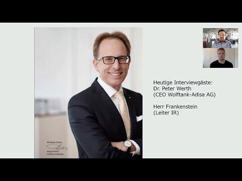 Interview mit dem CEO der Wolftank-Adisa AG Hr. Dr. Werth