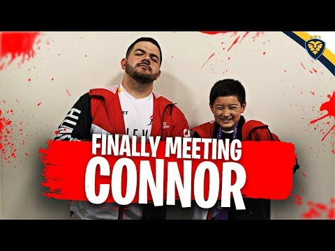 CONNOR AND COURAGE MEET AT TWITCHCON! IT FINALLY HAPPENED!