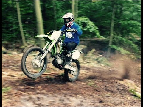 Kawasaki Kx 125 | Enduro | Summer - YouTube