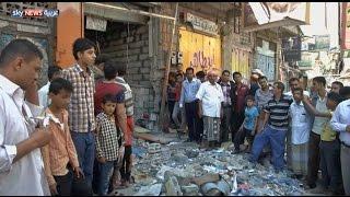 ضحايا بسقوط صاروخ حوثي على تعز