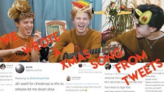 WE WROTE A XMAS SONG FROM FAN TWEETS! MP3