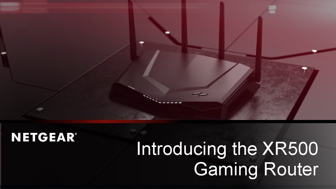 Nighthawk Pro Gaming XR500 review: the best router in the world for