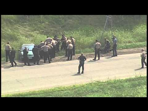 Interstate 494 police chase and arrest