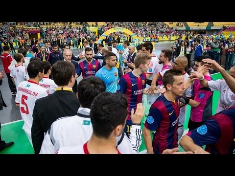 Highlights Final Uefa Futsal Cup: Kairat-FC Barcelona (3-2)