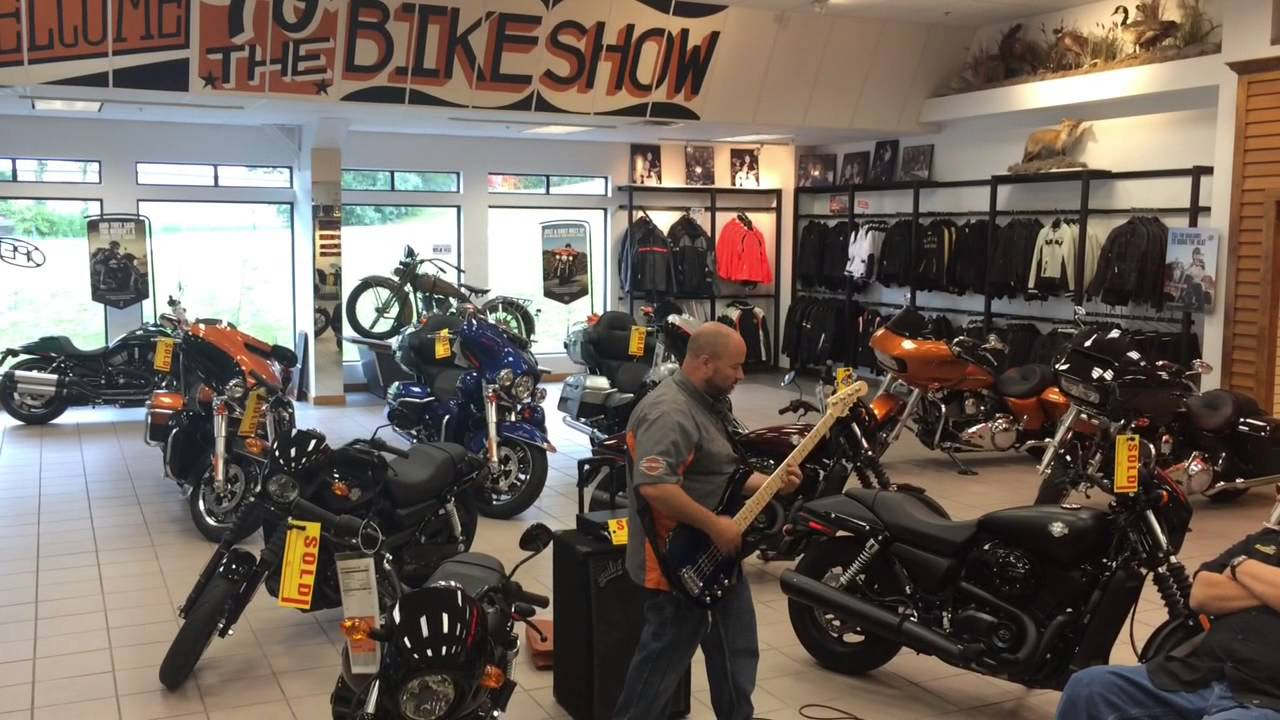 Big Moose Harley-Davidson Portland Maine, A day at Big Moose HD when