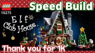 LEGO 10275 Elf Club House Spee…
