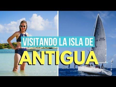 Visitando La Isla De Antigua En El Caribe