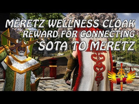 Meretz Wellness Cloak • Reward For Connecting SotA With Meretz