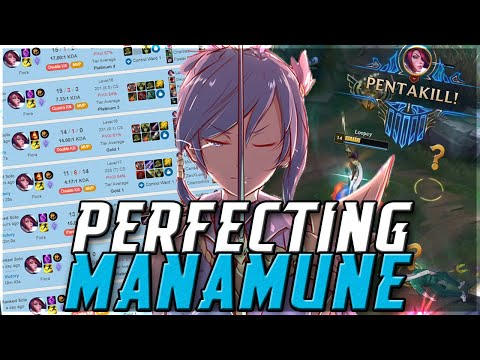 How to Abuse Manamune Fiora PERFECTLY (30 GAME WINSPREE) | ForgottenProject