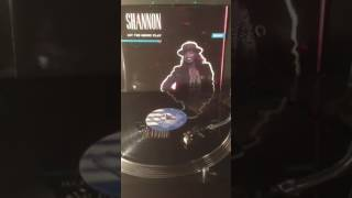 """Shannon - Let The Music Play Vinyl 12"""" Version ."""