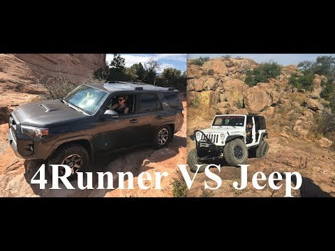 Toyota 4Runner VS Jeep Wrangler JK/JKU - Trip Comparison Review - JN25