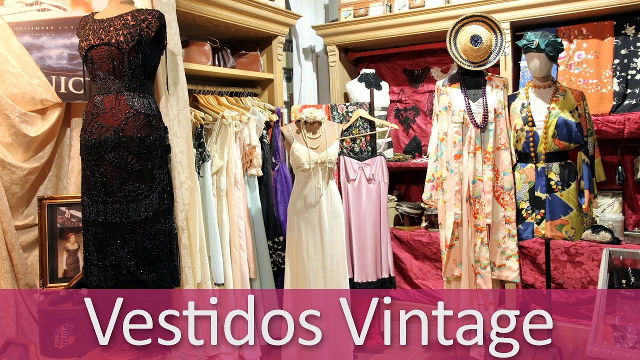 Vestidos vintage novia y fiesta l arca youtube - Objetos de decoracion vintage ...