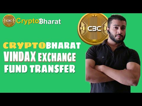 Crypto Bharat To Vindax Exchange Fund Transfer    LIVE WITHDRAWAL