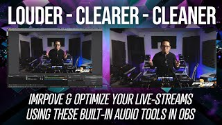 How do I Live-Stream Louder Without the Audio Clipping? | OBS Tutorial