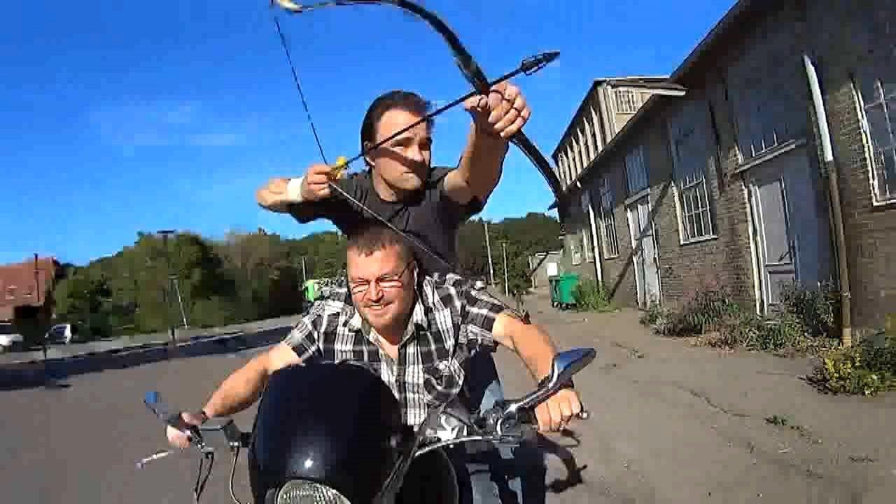 Drive-by Archery - YouTube