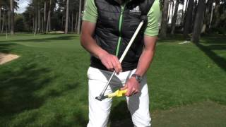 HOW THE SURE-SET TEACHES YOU CLUBFACE CONTROL