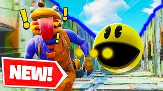 *NEW* PAC MAN RUN Custom Gamemode In Fortnite Battle Royale! | Fortnite W/ Lazarbeam, Muselk, & Vik