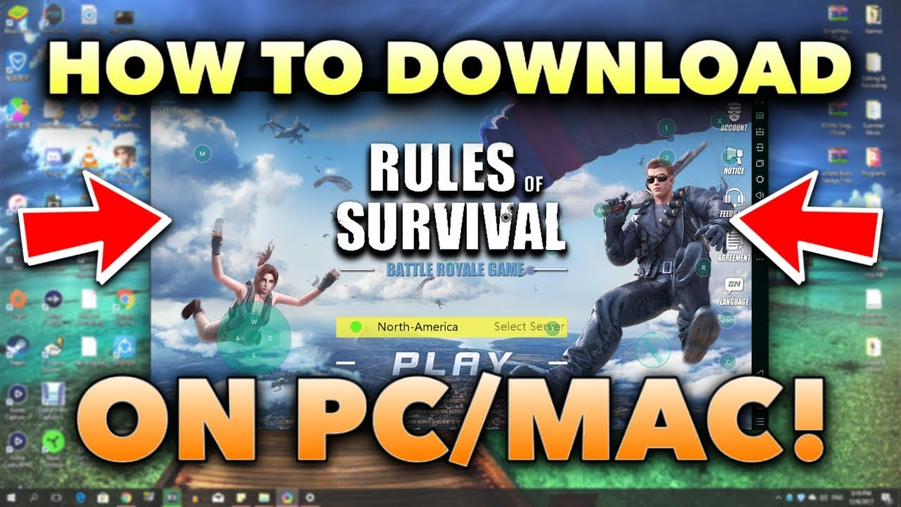rules of survival best guns 2018