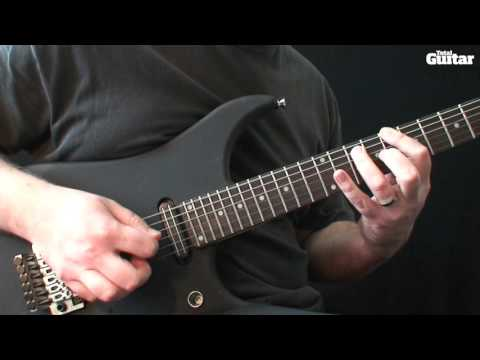 Guitar Lesson: Learn how to play Metallica - Wherever I May Roam