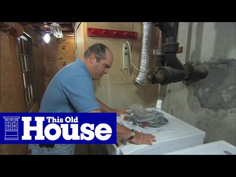 Gas Dryer Repair How To Stop A Leaking Gas Hose On A