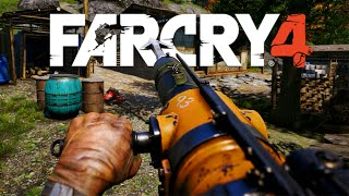 Far Cry 4 - Harpoon Gun, Arma do OCO