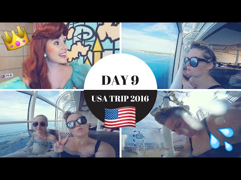 DAY 9 | GRAND CAYMAN + AQUADUCK & DISNEY PRINCESSES | VLOG | #AliUSA2016 🇺🇸