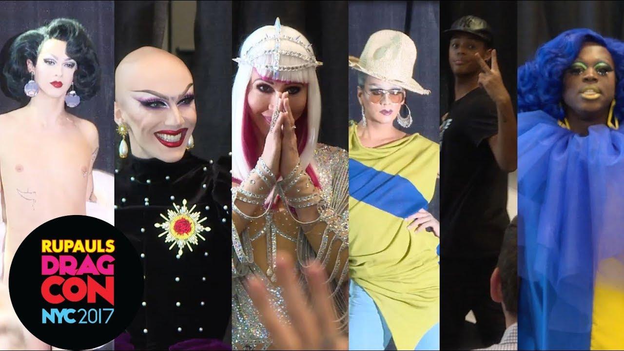 Download Bob, Chad, Raja, Sasha, Tyra and Violet: Crowned Queen Runway at RuPaul's DragCon NYC 2017