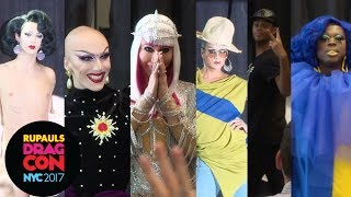 Bob, Chad, Raja, Sasha, Tyra and Violet: Crowned Queen Runway at RuPaul's DragCon NYC 2017