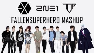 2NE1, EXO and TOP Mashup - Come Back Home + Overdose + Doom Dada