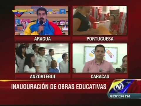 Presidente Maduro inaugura sede de Unearte en Puerto La Cruz y anuncia viaje a ONU