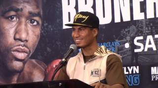 ADRIEN BRONER v MIKEY GARCIA - *FULL & UNCUT* POST FIGHT PRESS CONFERENCE (NEW YORK)