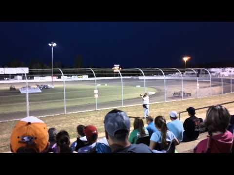 Tyler Reddick Qualifying at Magnolia Motor Speedway 2012 LOLMDS