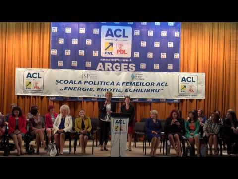 Discurs Olimpia Doru la Scoala Politica a Femeilor  din ACL