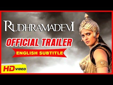 Rudhramadevi Official Trailer Tamil   Anushka Shetty   Allu Arjun   Rana Dagubatti   Ilayaraja