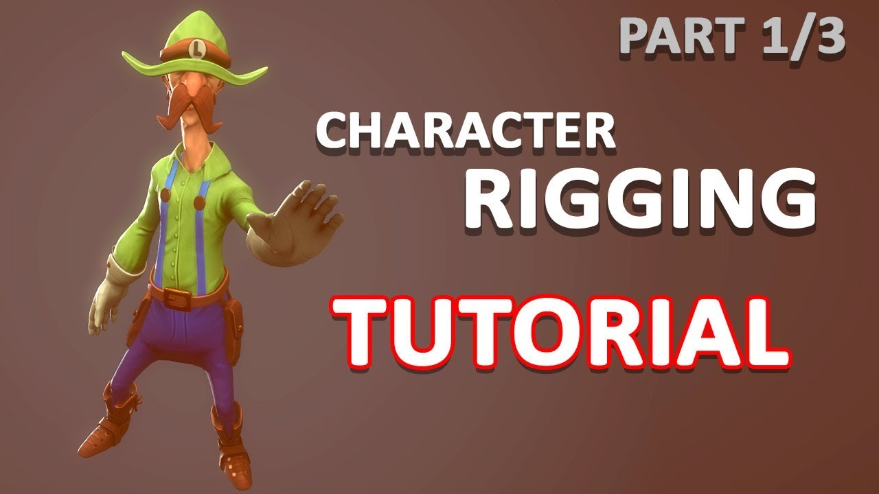 Autodesk Maya 2018 - Simple Character Rigging Part 1 of 3