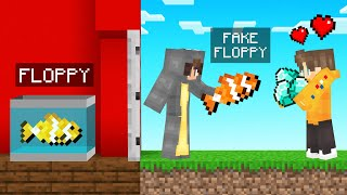 I TRICKED Him For DIAMONDS With A FAKE FISH! (Minecraft)