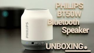 Philips BT50W Unboxing | Bluetooth Wireless / Wired Speaker