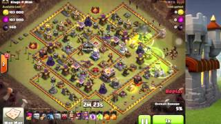 部落衝突 11本 部落戰Twitch直播  Clash of Clans TH11 Attack Strategy