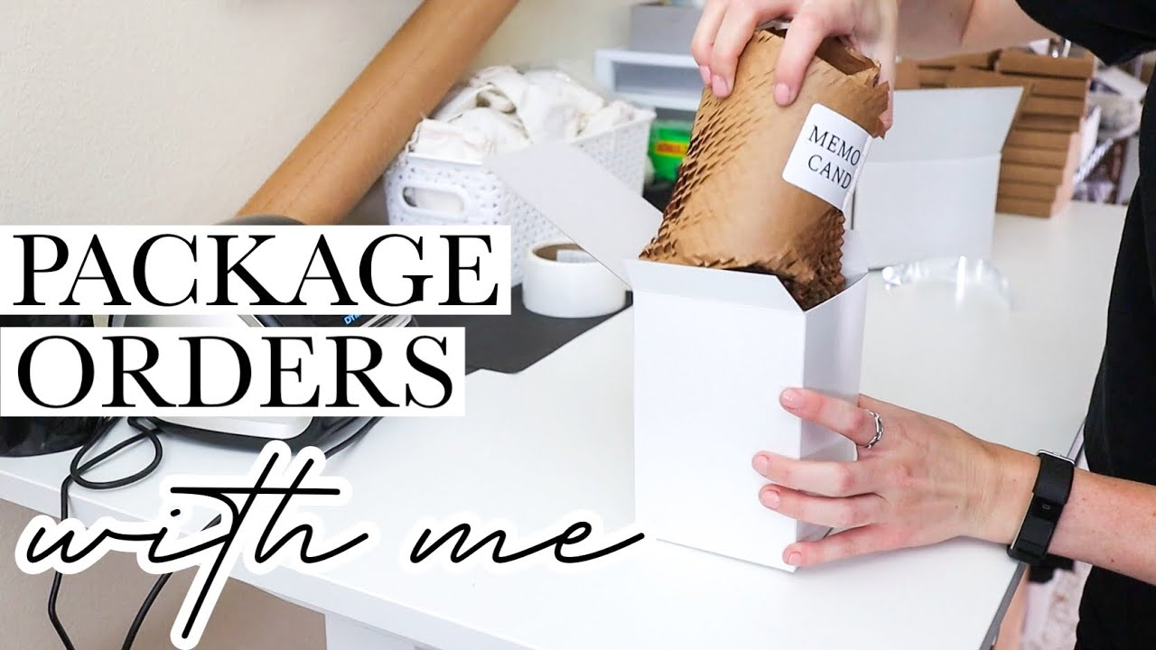 PACKAGE ORDERS WITH ME PODCAST   Let's Talk About Expectations When Starting A Small Business