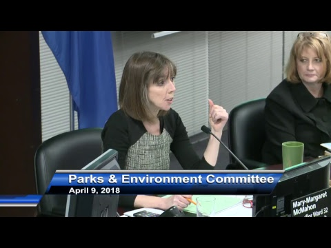Parks and Environment Committee - April 9, 2018