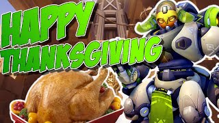 Happy Thanksgiving! - Overwatch Orisa Gameplay