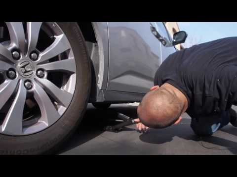 Where is The Spare Tire on a 2015 Honda Odyssey. - Part 1 of 2