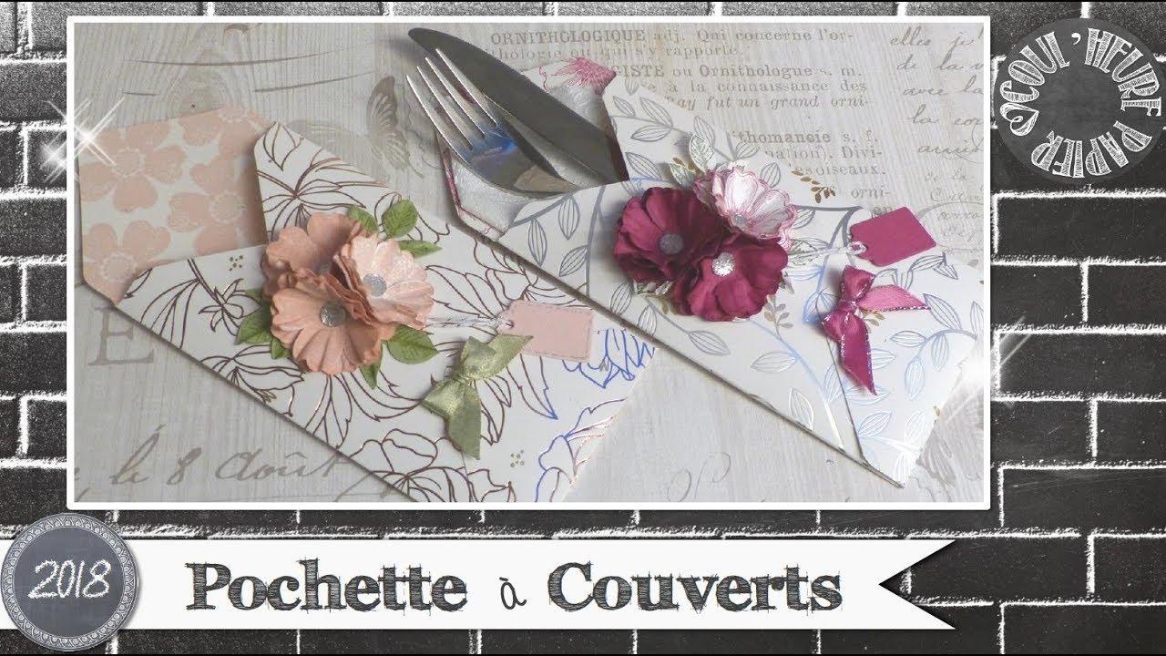Video Tuto Pochette A Couverts Par Coul Heure Papier