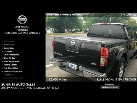 Used 2011 Nissan Frontier | Sunrise Auto Sales, Rosedale, NY